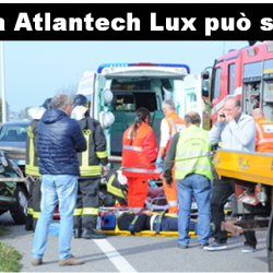 Sicurezza passiva: Atlantech Lux può salvare la vita in caso di incidente